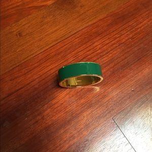 Jcrew Green Enamel Clic Bracelet